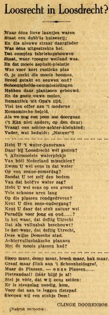 gedicht uit 1927